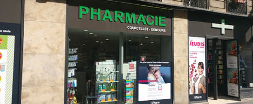 Pharmacie Courcelles Demours,Paris