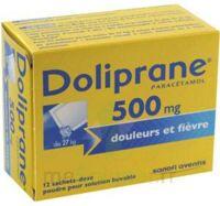 Doliprane 500 Mg Poudre Pour Solution Buvable En Sachet-dose B/12 à Paris