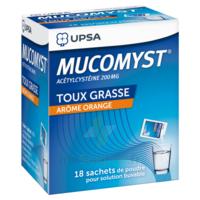 Mucomyst 200 Mg Poudre Pour Solution Buvable En Sachet B/18 à Paris
