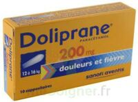 Doliprane 200 Mg Suppositoires 2plq/5 (10) à Paris
