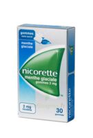 Nicorette 2 Mg Gom à Mâcher Médic Sans Sucre Menthe Glaciale Plq/30gom à Paris