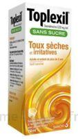 Toplexil 0,33 Mg/ml Sans Sucre Solution Buvable 150ml à Paris