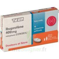 Ibuprofene Teva Conseil 400 Mg, Comprimé Pelliculé à Paris
