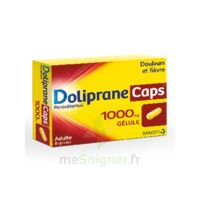 Dolipranecaps 1000 Mg Gélules Plq/8 à Paris
