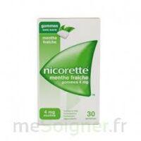 Nicorette 4 Mg Gom à Mâcher Médic Sans Sucre Menthe Fraîche Plq/30gom à Paris