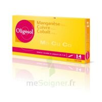 Oligosol Manganèse Cuivre Cobalt Solution Buvable En Ampoule 14amp/2ml à Paris