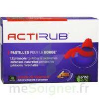Actirub Pastilles Pour La Gorge B/15 à Paris