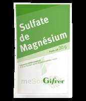 Gifrer Magnésium Sulfate Poudre 50 Sachets/30g à Paris