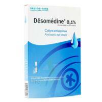 Desomedine 0,1 % Collyre Sol 10fl/0,6ml à Paris