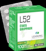 Lehning L52 Comprimés Orodispersibles Plq Pvc/pvdc/alu/100 à Paris