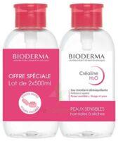 Crealine H2o Solution Micellaire Nettoyante Apaisante Sans Parfum 2fl Pompe Inversée/500ml à Paris